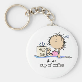 I Need A Cup of Coffee Keychain