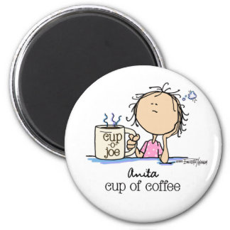 I Need A Cup of Coffee Refrigerator Magnet