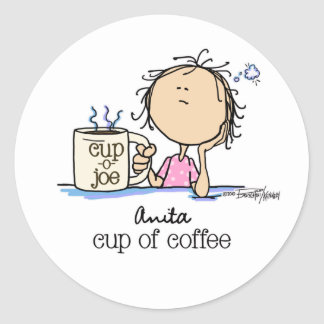 I Need A Cup of Coffee Sticker