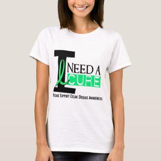 I NEED A CURE 1 CELIAC DISEASE T-Shirts
