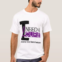 I NEED A CURE 1 CYSTIC FIBROSIS T-Shirts