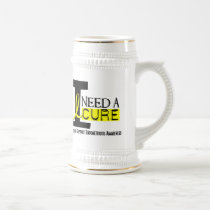 I Need A Cure 1 Endometriosis Beer Stein