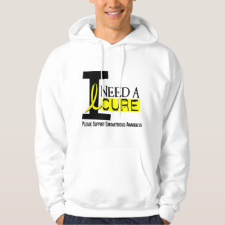 I Need A Cure 1 Endometriosis Hooded Pullover