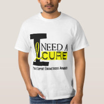 I Need A Cure 1 Endometriosis T-Shirt