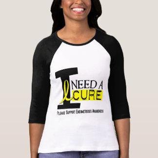 I Need A Cure 1 Endometriosis T-Shirt