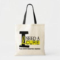 I Need A Cure 1 Endometriosis Tote Bag