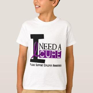 I NEED A CURE 1 EPILEPSY T-Shirts