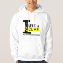 I Need A Cure 1 Hydrocephalus Hoodie