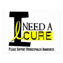 I Need A Cure 1 Hydrocephalus Postcard