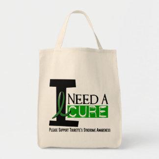 I Need A Cure Tourette's Syndrome Canvas Bag