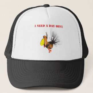 I need a day off.ai trucker hat
