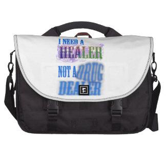 I need a healer not a drug dealer commuter bag
