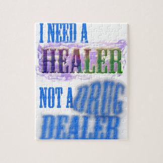 I need a healer not a drug dealer jigsaw puzzle