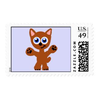 I Need A Hug Kitty Postage