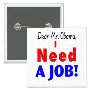 i need a job pin