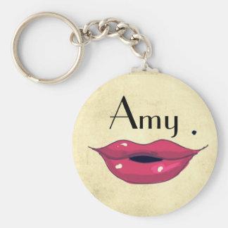 I need a KISS Basic Round Button Keychain