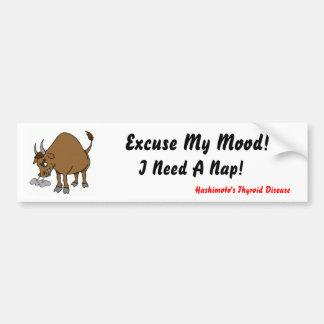 I need a nap Bumpersticker Car Bumper Sticker