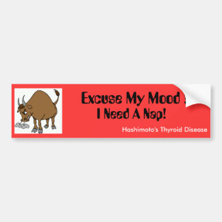 I need a Nap! Car Bumper Sticker