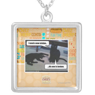 I need a new minion square pendant necklace