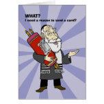 I need a reason? card