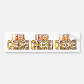 I Need Blue Cheese Bumper Sticker