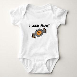I Need Candy Baby Bodysuit