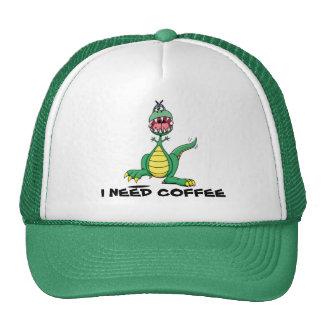 I Need Coffee Cap - Customisable Trucker Hat
