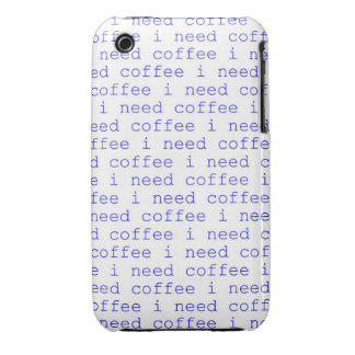 I Need Coffee, Coffee lovers Iphone 4 case