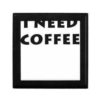 I need coffee jewelry box