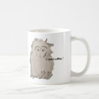 """I need Coffee""  MOD Meet Mug"
