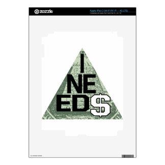 I NEED $ DECALS FOR iPad 3