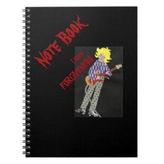 I need FORGIVENESS Notebook