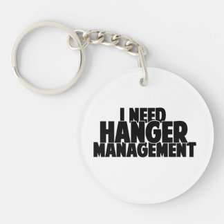 I need hanger management keychain