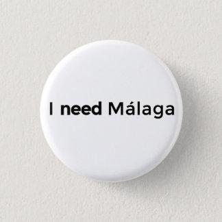 I need Malaga - Plate Pinback Button