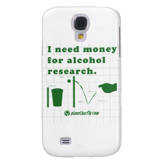 I need money for alcohol research. samsung galaxy s4 cover