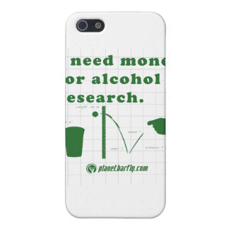 I need money for alcohol research. iPhone SE/5/5s case