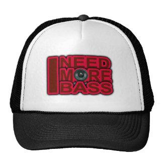 I NEED MORE BASS-Dubstep-DnB-DJ-Hip Hop-Club Trucker Hat