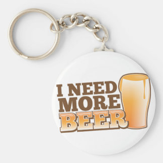 I NEED MORE BEER from The Beer Shop Keychain