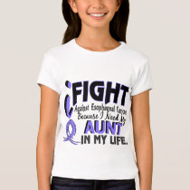 I Need My Aunt Esophageal Cancer T-Shirt