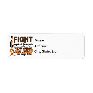 I Need My Best Friend Leukemia Label
