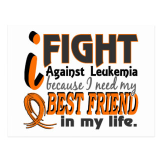 I Need My Best Friend Leukemia Postcard