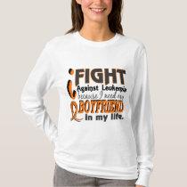 I Need My Boyfriend Leukemia T-Shirt