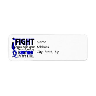 I Need My Brother Colon Cancer Label