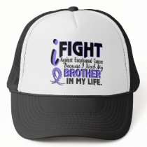 I Need My Brother Esophageal Cancer Trucker Hat