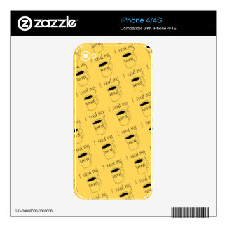 I need my coffee decal for iPhone 4