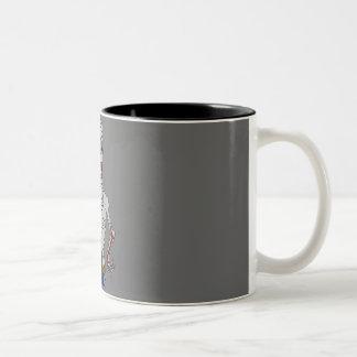 """I need my coffee"" Zombie mug"