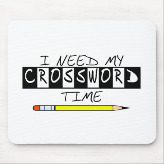 I need my Crossword time t-shirts and gifts. Mouse Pad