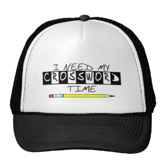 I need my Crossword time t-shirts and gifts. Trucker Hat