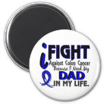I Need My Dad Colon Cancer Fridge Magnets