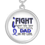 I Need My Dad Colon Cancer Necklace